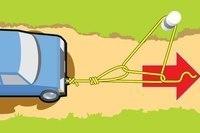 Как вытащить застрявший автомобиль в одиночку
