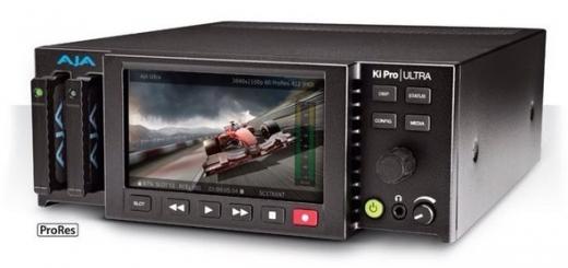 «Пишущий плеер» AJA Ki Pro Ultra поддерживает разрешение 4K с кадровой частотой 60 к/с