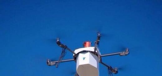 В Неваде совершена первая доставка посылки при помощи дрона, одобренная FAA