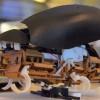Робот-таракан умеет прыгать на высоту до 1,6 м