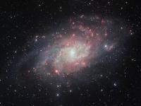 Телескоп VLT сделал самый подробный снимок галактики M33