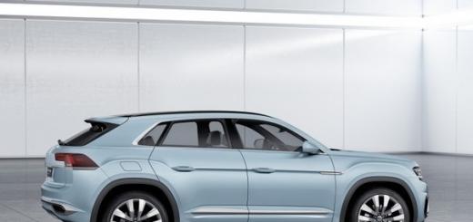 Cевероамериканский автосалон: гибридный кроссовер Volkswagen Cross Coupe GTE