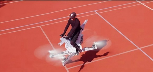 Российские разработчики создали летающий мотоцикл
