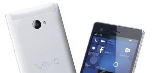 VAIO готовит самый мощный смартфон на Windows 10