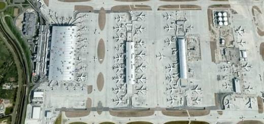 25 самых интересных мест, для просмотра в Google Earth.