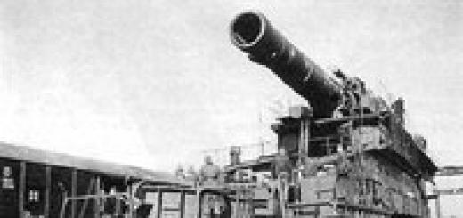 Самая большая пушка в мире Густав