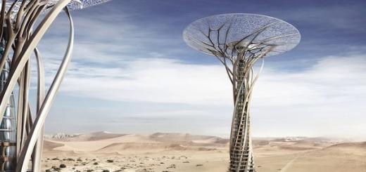 Песчаный Вавилон — концепция необычного небоскрёба в Сахаре