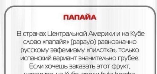 Какие русские слова нельзя произносить за границей
