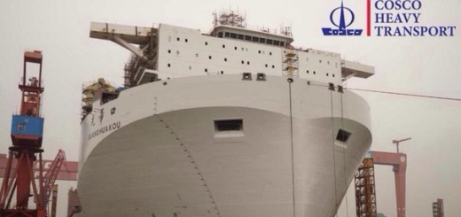 Машины-монстры: Guang Hua Kou — самое большое в мире грузовое судно с затопляемой палубой