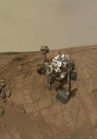 Ученые не исключают, что вместе с марсоходом Curiosity на Марс могли отправиться и земные бактерии.