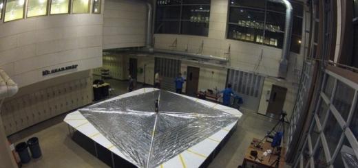 Экспериментальный спутник раскрыл солнечный парус