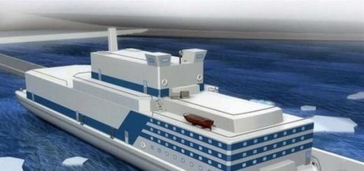 Китай собирается построить флот плавучих атомных электростанций
