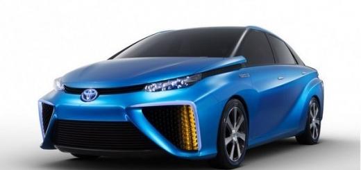 Toyota подтвердила выпуск автомобиля на водородных топливных элементах в 2015 году
