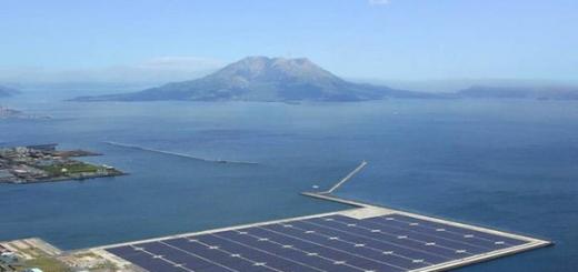 Япония начала строительство солнечных островов