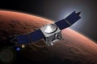 Зонд MAVEN совершил рискованное погружение в атмосферу Марса