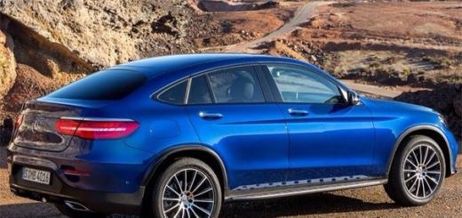 Купе-кроссовер Mercedes-Benz GLC Coupé составит конкуренцию BMW X4