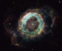 NGC 6369: туманность Маленькое Привидение.