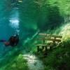 Почему это Зеленое озеро на самом деле парк в Австрии, но летом оно наполняется водой и превращается в озеро. На осень и зиму оно снова превращается в парк?