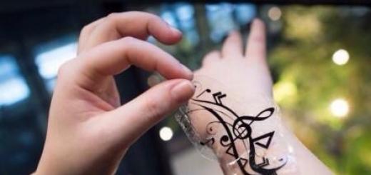 Наклейки iSkin могли бы использоваться, чтобы управлять мобильными устройствами