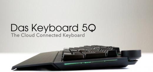 Das Keyboard 5Q — первая в мире клавиатура с облачным хранилищем