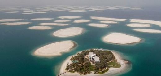 В России задумались о создании искусственных островов