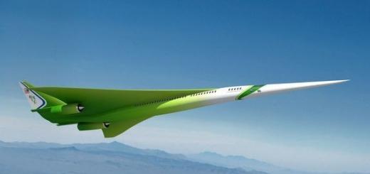 Специалисты NASA тестируют модели сверхзвуковых пассажирских самолетов