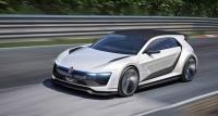 #Volkswagen показала концепт автомобиля Golf GTE Sport с гибридным двигателем