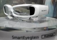 Прототип умных очков от Sony на CES 2014.