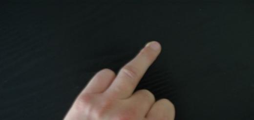 Почему безымянный палец поднимать труднее?