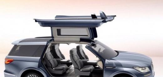 На Нью-Йоркском международном автосалоне показали концепт-кар внедорожника Lincoln Navigator нового поколения