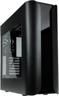 Компьютерный корпус BitFenix Pandora ATX оборудован жидкокристаллическим дисплеем