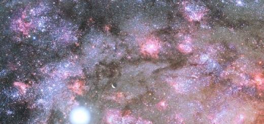 Астрономы впервые увидели зарождение массивной галактики в ранней Вселенной