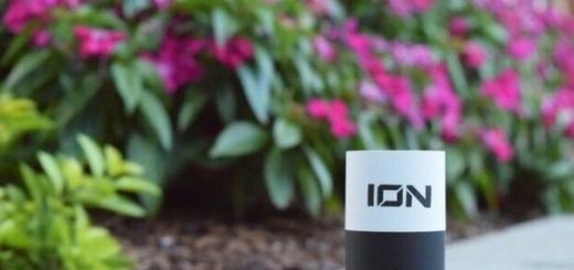 Самый маленький в мире зарядник и пауэрбанк ION X CORE