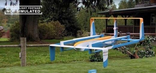 Правительство Великобритании даёт шанс Amazon полноценно испытать дроны в различных условиях