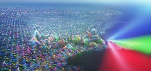 Как выглядел бы мир, если бы мы видели сигналы мобильной связи?