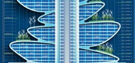 Необычная конструкция небоскребов в Шэньчжэне