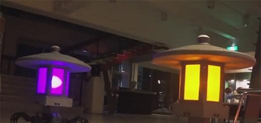 Toro-bots — роботы-светильники, сопровождающие хозяина