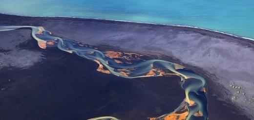 Аэрофотосъемка вулканических рек Исландии от Андрея Ермолаева