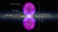 Пузыри гамма-излучения над нашей галактикой продолжают скрывать тайну своего происхождения от ученых