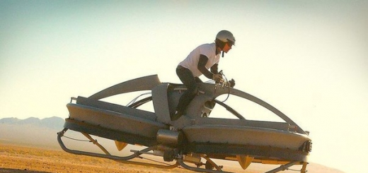 Aero-X — летающий байк компании Aerofex.