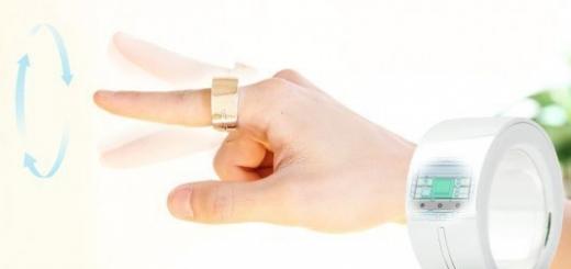Bluetooth-кольцо позволяет управлять различными устройствами