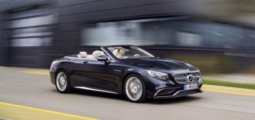 Mercedes-AMG представила сверхбыстрый флагманский кабриолет