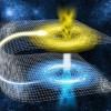 Гипотетическая «кротовая нора», которую называют еще «кротовиной» или «червоточиной» (дословный перевод wormhole) представляет из себя некий пространственно-временной туннель, который позволяет переместиться объекту из пункта А в пункт Б во Вселенной не по прямой, а огибая пространство. Если проще,