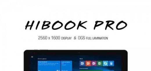 Гибридный планшет Chuwi HiBook Pro оснастили 2K-экраном