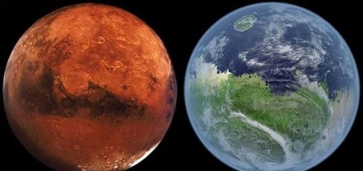 На Марсе имеются условия для наличия воды в жидкой форме