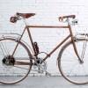 Новый электрический велосипед Velocipede Fogliaverde сделан в классическом стиле.