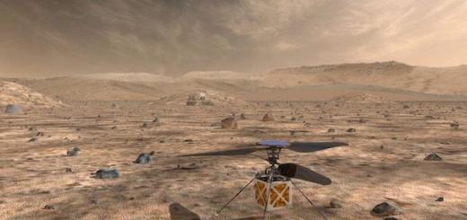 Беспилотный дрон Mars Helicopter