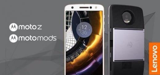 Moto Z и Moto Z Force — флагманы с поддержкой сменных модулей